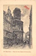 France Paris  Vieux Paris  Rue Du Jour Eglise St-Eustache      Maggi   Barry 164 - Eglises