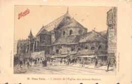 France Paris  Vieux Paris  L'Abside De L'Eglise Des Arts-Métiers      Maggi   Barry 166 - Eglises