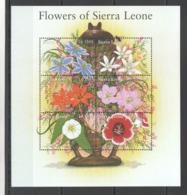 U946 SIERRA LEONE FLOWERS OF SIERRA LEONE FLORA 1KB MNH - Vegetales