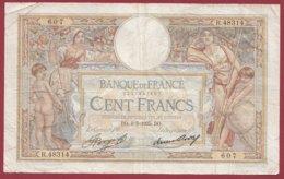 """100 Francs """"Luc Olivier Merson"""" Du 09/05/1935.DO----F/TTB+---ALPH .R.48314 - 1871-1952 Anciens Francs Circulés Au XXème"""