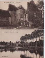 SAINT-AGIL-Lot De 2 CPAs - France