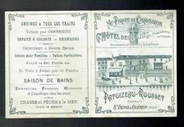 Publicité Au Phare De Chassiron Grand Hotel Des Bains Patoizeau Rousset St Denis D'Oléron * Touring Club De France - Publicités