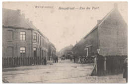 WEVELGEM 1912 Brugstraat Overweg Anime Passage à Niveau Rue Du Pont De Nieuwe Voerman - Wevelghem - Wevelgem