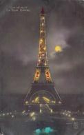 France Paris  La Tour Eiffel  Eiffel Tower  Vue De Nuit  EXPOSITION DES ARTS DECORATIFS     Barry 170 - Tour Eiffel