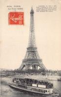 France 75 Paris  La Tour Eiffel  Eiffel Tower  Bateau   Barry 172 - Eiffeltoren