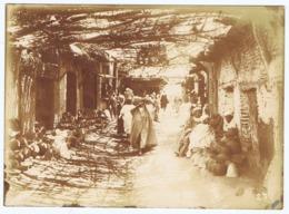 Ancienne Photographie MARRAKECH  -  Souk Aux Poteries - Afrika