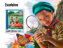 GUINEA BISSAU 2019 - Scouts, Rowing S/S. Official Issue - Rudersport
