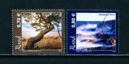 ALAND  -  2005 Landscapes Set Used As Scan - Aland