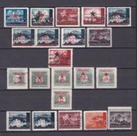 Jugoslawien - 1945 - Ausgaben Der Einzelnen Volksrepubliken Kroatien+Portomarken - Sammlung - Ungebr./Postfrisch - Nuovi