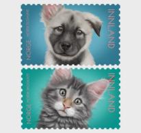 NORWAY, 2019, MNH,PETS, CATS, DOGS,2v - Hunde