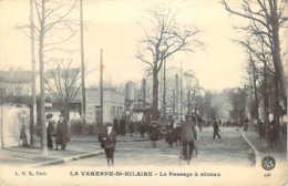 94 VAL De MARNE Animation Au Passage à Niveau De La VARENNE Saint-HILAIRE - Francia