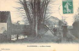 94 VAL De MARNE Pêcheur Et Chasseur Au Fusil Au Bois D'Auteil à VILLECRESNES - Villecresnes
