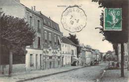 95 VAL D'OISE La Rue De Paris Animée à SANNOIS + Ambulant Paris-Nord - Sannois