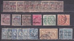 1891-1900 Timbres De Levant Francais Obliteré - Used Stamps