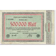 Billet, Allemagne, Aachen, 500000 Mark, Valeur Faciale, 1923, 1923-07-20, TB - Duitsland