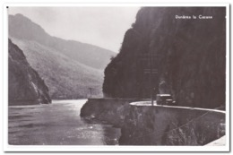 Dunarea La Cazane ( 2 Fault Lines, Large Crease On The Right ) - Roemenië