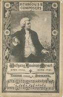 Wolfgang Amadeus Mozart Theme From A Sonata Ngl #118.999 - Beroemde Personen