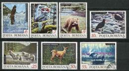 Roumanie Ob N° 4033 à 4039 - Animaux : Rapaces, Ours, Loups, élan - 1948-.... Repúblicas