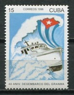 Cuba 1996 / Ships Gramma MNH Barcos Bateaux Schiffe / Cu8618  C3-9 - Barche