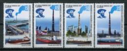 Cuba 2017 / Oil Ships MNH Barcos Petroleo Schiffe Bateaux / Cu7125  31-58 - Barcos
