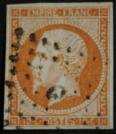 EMPIRE N°13A  O.( Belles Marges ) TB Ambulant. - 1853-1860 Napoléon III
