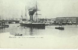 MESSAGERIES MARITIMES PAQUEBOT LE CALEDONIEN - Passagiersschepen