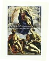 2018 - Vaticano BF 94 Quadro Del Tintoretto - Quadri