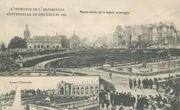 Bruxelles L'Incendie De L'Expo 1910 Ngl #136.432 - Non Classés