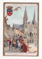 CHOCOLAT D'AIGUEBELLE   Charles Le Chauve Fait Don Du Voile De La Sainte Vierge à Chartres En 876 - Aiguebelle