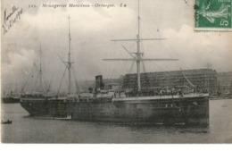 MESSAGERIES MARITIMES PAQUEBOT ORENOQUE - Steamers