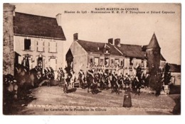 SAINT MARTIN DE CONNEE MISSION DE 1925 TRES ANIMEE - France