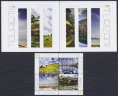 Montenegro 2008 Tourism, Booklet, MNH (**) Michel 172-175 - Montenegro