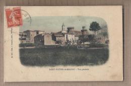 CPA 30 - SAINT-VICTOR De MALCAP - Vue Générale - TB PLAN D'ensemble Du Village + Jolie Oblitération Verso - Other Municipalities