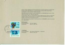 UNO Wien MiNr 1-6 In Mappe Gestempelt - Centre International De Vienne