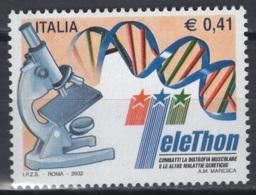 Italie. An 2002. TP Y&T N° 2615 **, MNH, Neuf(s). Cote Y &T 2012 :  1,25 € - 6. 1946-.. Republic