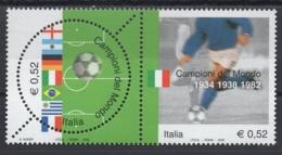 Italie. An 2002. TP Y&T N° 2617/18 **, MNH, Neuf(s). Cote Y &T 2012 :  4,25 € - 6. 1946-.. Republic