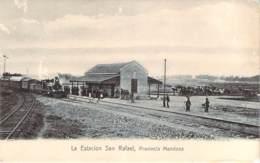 Argentine Argentina - La Estacion San Rafael, Provincia Mendoza (train En Gare, Locomotive) - Argentinië