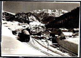 VAL GARDENA - ITALIE - GRUPPO SELLA - WOLKENSTEIN - SELLA GRUPPO - CHEMIN DE FER - TRAIN - BEAU PLAN - Italy