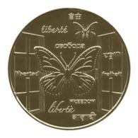 Monnaie De Paris , 2015 , Donzenac , Une Médaille Pour La Liberté , Revers 2 NG - Monnaie De Paris