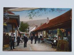 Romania 554 Ada Kaleh 1910 Orsova Bazar - Romania