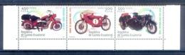 O92- Equatorial Guinea 2003. Motorbikes. Motorcycles. - Motorbikes