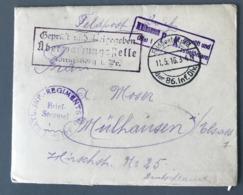 """Allemagne 1916 - """"der 86. Inf. Div."""" - Griffes Diverses - (B2467) - Oorlog 1914-18"""