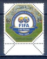 O94- Qatar 2004. 100th Year Of FIFA. - Qatar