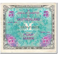 Billet, Allemagne, 5 Mark, 1944, SERIE DE 1944, KM:193a, TTB - 5 Mark