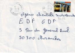 TP 3338  Seul Sur Enveloppe De Pontaubault - Storia Postale