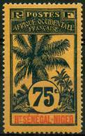 Haut Senegal Et Niger (1906) N 14  * (charniere) - Ongebruikt