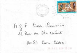 TP 3340  Seul Sur Enveloppe De Douvres Le Délivrande - Storia Postale