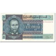 Billet, Birmanie, 5 Kyats, 1973, Undated (1973), KM:57, SPL - Cambogia