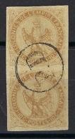 Colonie Générale - N° 3 Oblitéré - Payé Jusqu'à La Destination - En Paire - Réunion - - Eagle And Crown