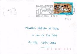 TP 3341  Seul Sur Enveloppe De Condé Sur Noireau - Storia Postale